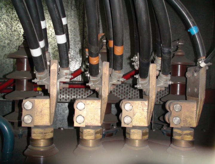Instalación de transformadores